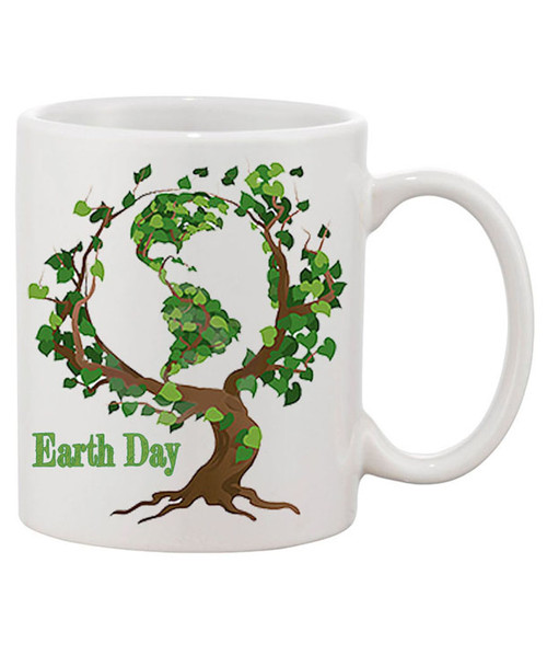 Earth Day  /Tree Branches Coffee Mug