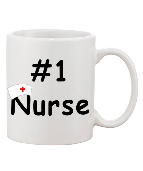 Nurse's Appreciation Coffee Mug / #1 Nurse