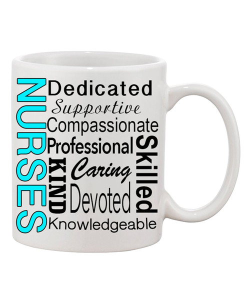 Nurses Definition Ceramic Coffee Mug