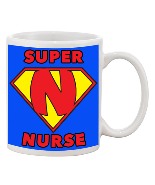 Super Nurse Cute Ceramic Coffee Mug