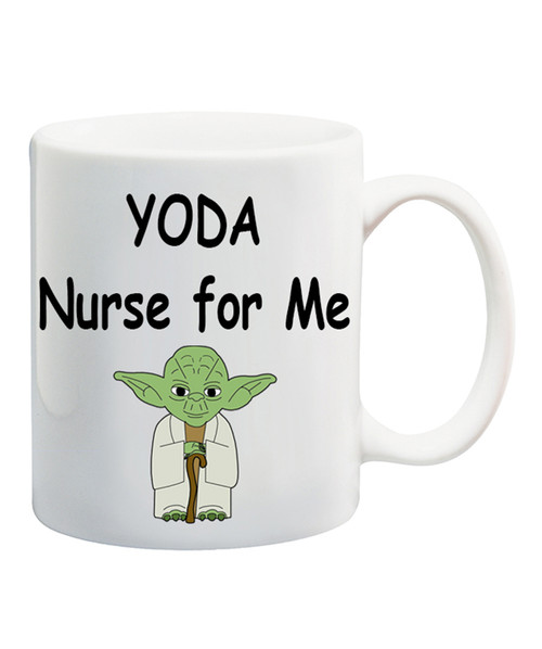 Yoda Nurse  Ceramic Coffee Mug