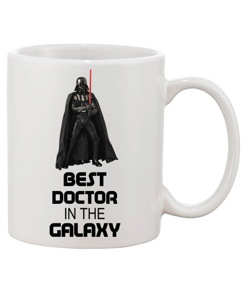 Best Doctor in the Galaxy Ceramic Coffee Mug!! Thank God He's the Best!
