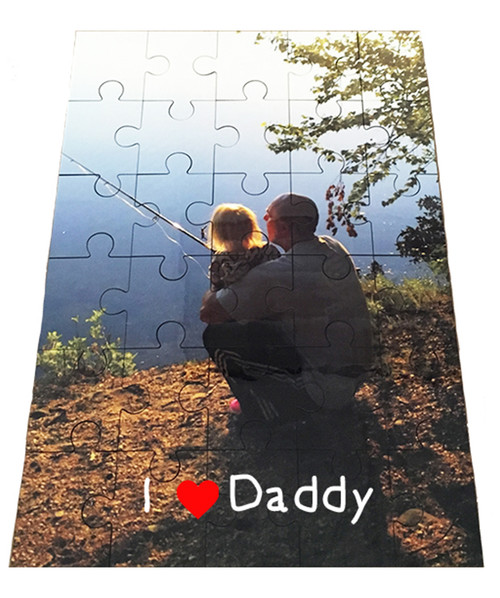 Jigsaw Puzzle Custom Personalized / 30 Piece Hardboard Great Kids Gift