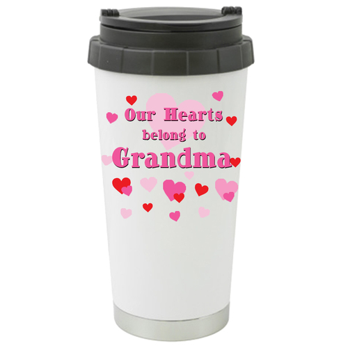 Our Hearts Belong to Grandma Travel Mug /Tumbler