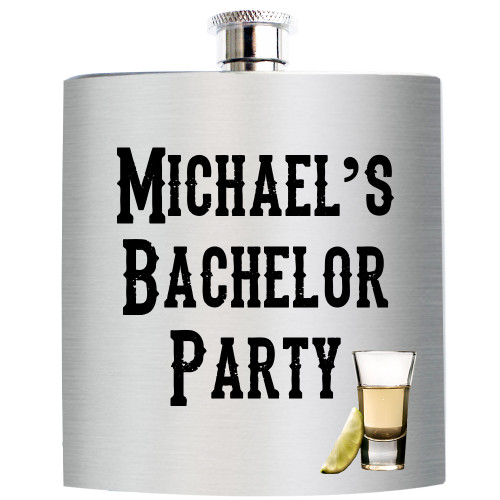 Stainless Steal Flasks for Bachelor/Bachelorette Parties, Weddings, Birthdays
