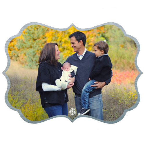 Custom Personalized Metal Photo Panel Wall Decor