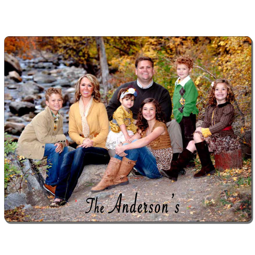 "Custom Personalized 5""x7"" Metal Photo Panel  Wall Art w/ Your Photo, Art or Design"