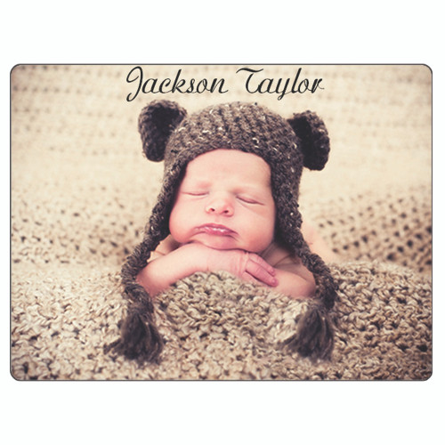 Baby Fleece Blanket-Custom Personalized  w/ Your Photos, Pictures, Names