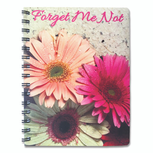 Custom Personalized Spiral Notebooks - Add your own Picture/Design 4 Sides