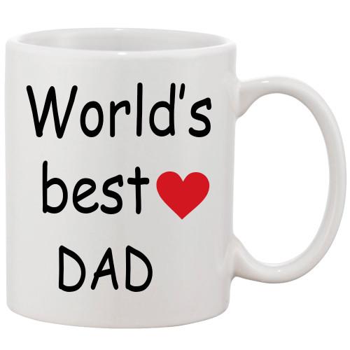 World's Best Dad Coffee Mug