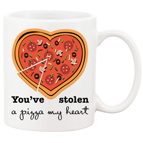 You've Stolen A Pizza of my Heart - Funny/Cute, Love  Mug