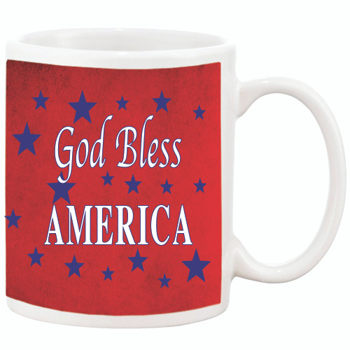 God Bless AMERICA - Patriotic Mug