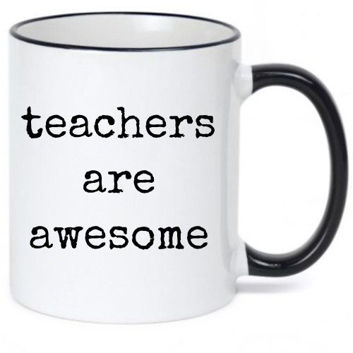 Teachers Are Awesome Cute Coffee Mug