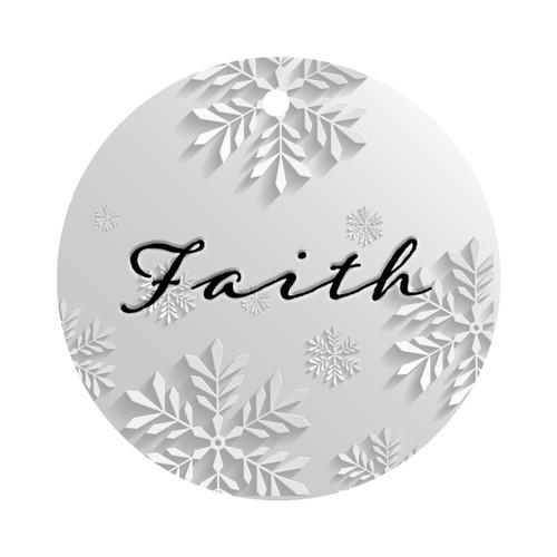 Custom Personalized Faith Ornament