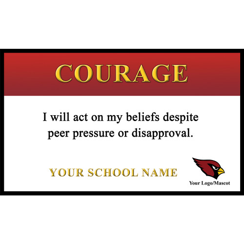 Core Value Banner 2 - Courage