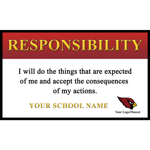 Core Value Banner 10 - Responsibility