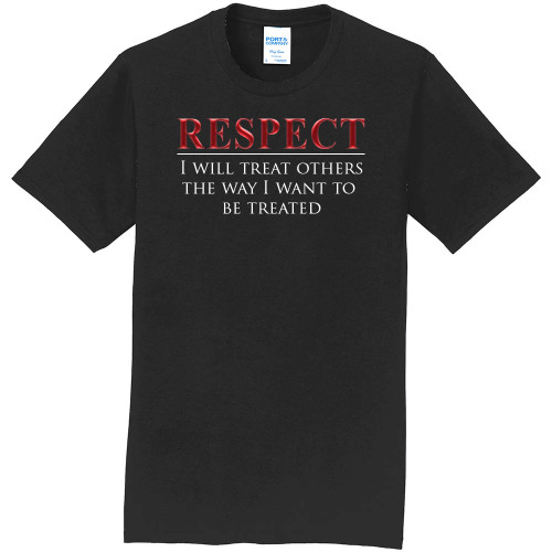 "RESPECT -Core Value Tee by ""The Good Kid"""