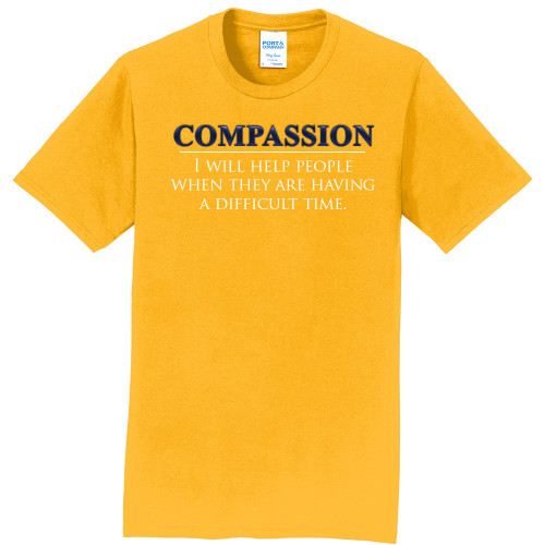 "COMPASSION - Core Value Tee by ""The Good Kid"""