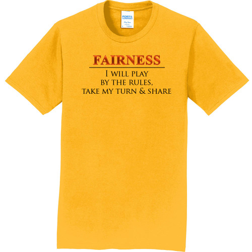 """FAIRNESS - Core Value Tee by """"The Good Kid"""""""