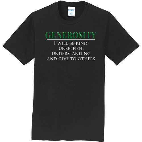 "GENEROSITY - Core Value Tee by ""The Good Kid"""