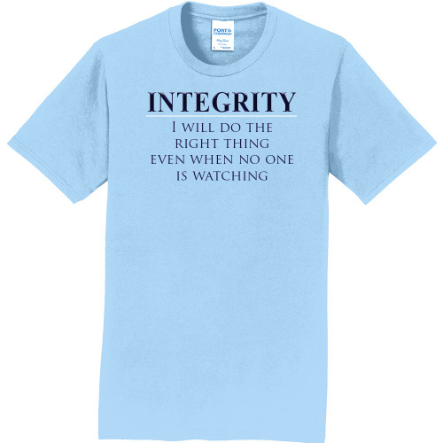 "INTEGRITY - Core Value Tee by ""The Good Kid"""