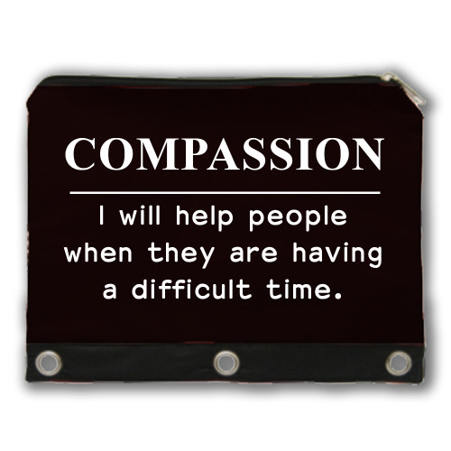 COMPASSION - Core Value Pencil Case
