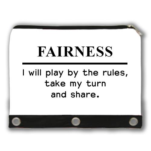 Fairness - Core Value Pencil Case