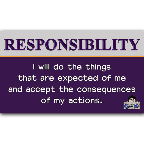 Responsibility - Core Value Poster