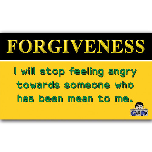 Forgiveness- Core Value Poster