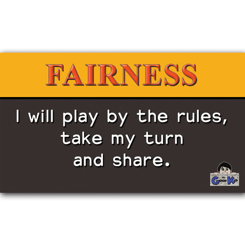Fairness - Core Value Poster