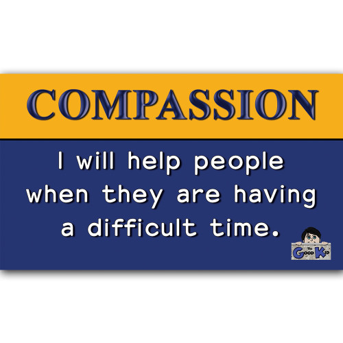 Compassion - Core Value Poster