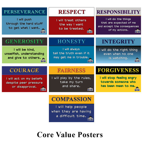 Core Value Posters (Set of 10)