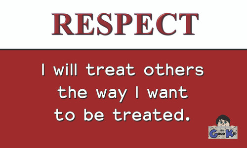 Respect - Core Value Poster