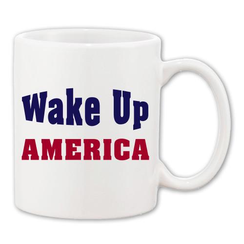 Wake Up America Coffee Mug