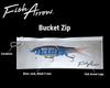 Fish Arrow BUCKET ZIP for swimbaits NEW