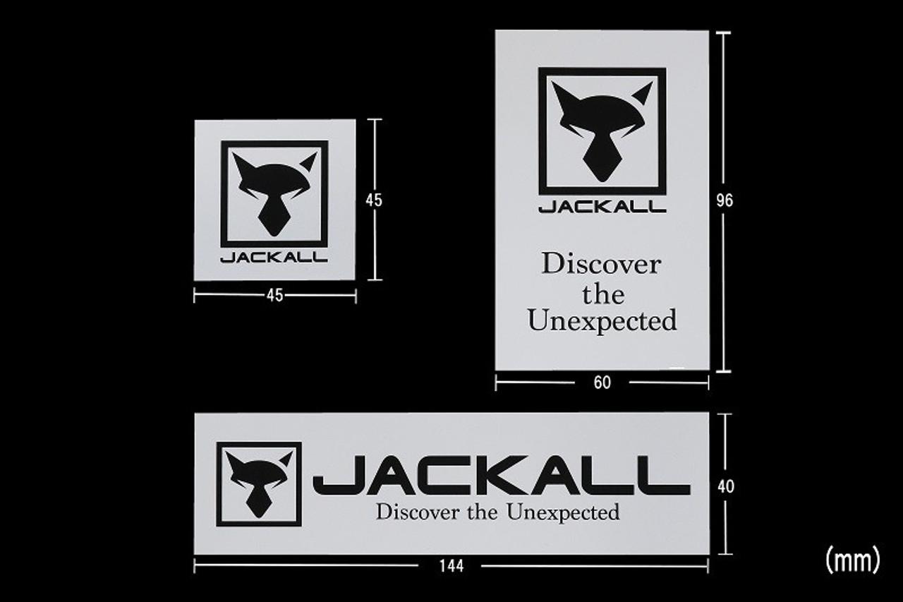 Jackall LOGO STICKER NEW