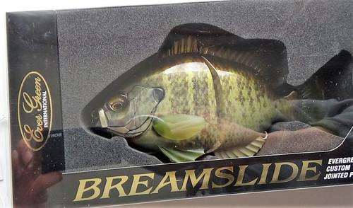Evergreen BREAMSLIDE #632 Natural Bream NEW