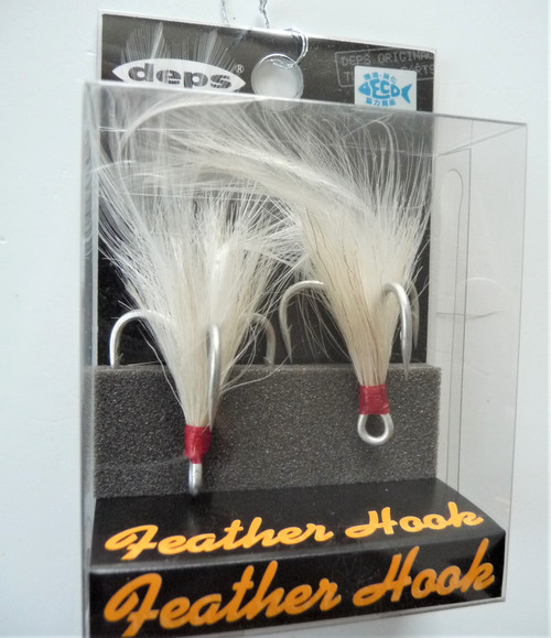 Deps Feather Hook #1 for Slide Swimmer 175 Bull Shooter 160 NEW