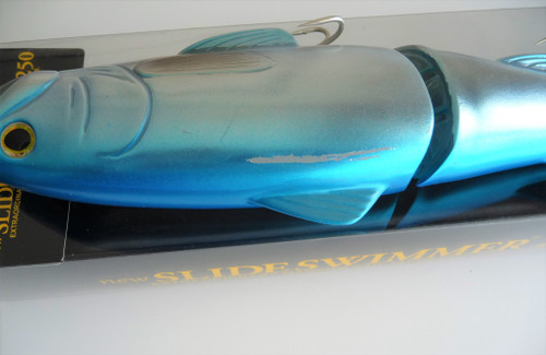 Deps NEW SLIDE SWIMMER 250 SS Slow Sinking #10 Blue Back Silver NEW
