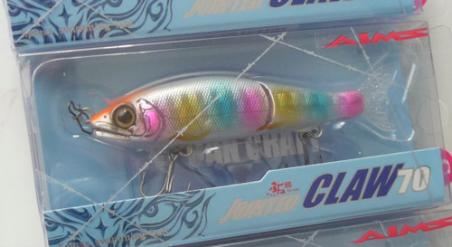 Gan Craft Jointed Claw Salt Custom 70 S Sinking #AS-11 Candy NEW