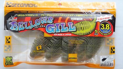 GEECRACK BELLOWS GILL 3.8 #263 Pond Gill NEW
