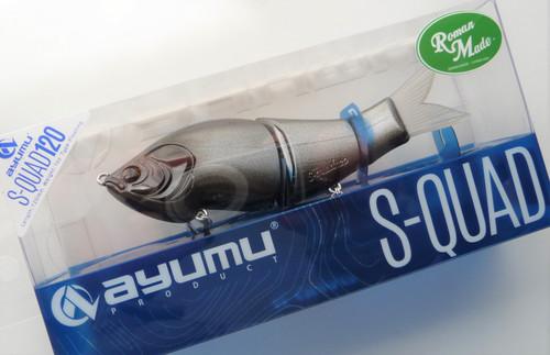 Ayumu Product x Roman Made  S-QUAD 120 Floating # Hide Black NEW