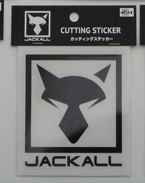 Jackall Cutting Sticker Square M Size # Black NEW