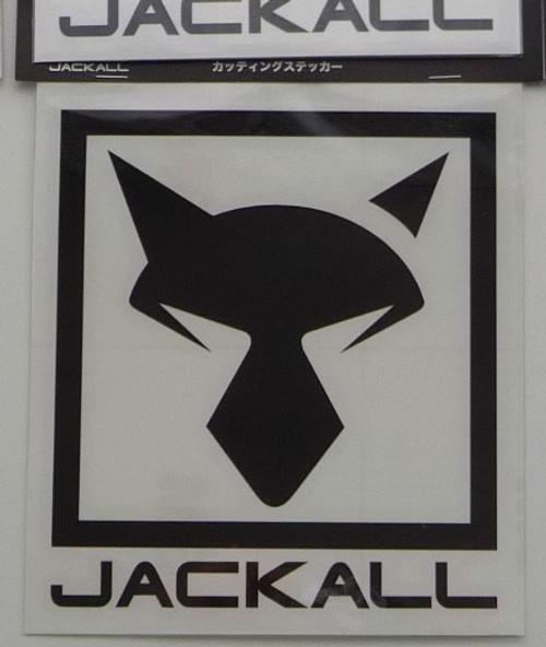 Jackall Cutting Sticker Square L Size # Black NEW