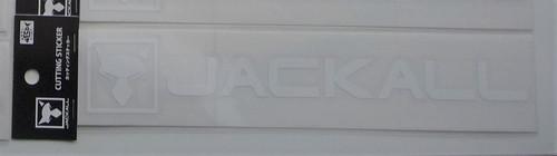 Jackall Cutting Sticker Rectangle M Size # White NEW