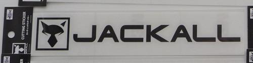 Jackall Cutting Sticker Rectangle M Size # Black NEW