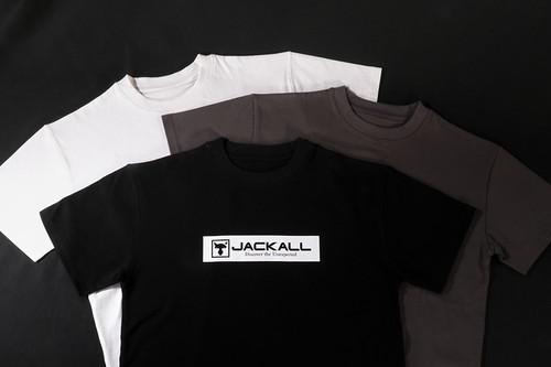 Jackall BOX LOGO TEE  T-Shirt L Size NEW