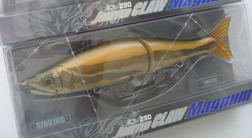 Gan Craft Jointed Claw Magnum 230 SS Slow Sinking #U14 Ugui (Male) NEW