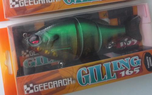 GEECRACK GILLING 165 HF #008 Hot Tiger Gill NEW