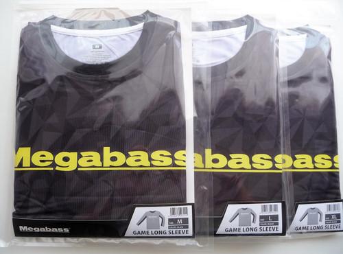 Megabass GAME LONG SLEEVE # Black NEW